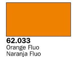 Vallejo Fluorescent Orange Premium (60ml Bottle) Hobby and Model Acrylic Paint #62033