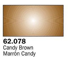 Vallejo Candy Brown Premium (60ml Bottle) Hobby and Model Acrylic Paint #62078