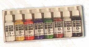 Vallejo HIGH ELVES PAINT SET #4 17ml Hobby and Model Paint Set #70104