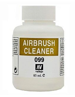 Vallejo Acrylic Paints 85ml Bottle Airbrush Cleaner -- Airbrush Accessory -- #71099