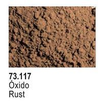 Vallejo Rust Pigment Powder (30ml) Paint Pigment #73117