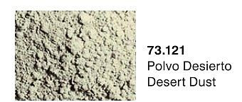 Vallejo Acrylic Paints Desert Dust Pigment Powder (30ml) -- Paint Pigment -- #73121