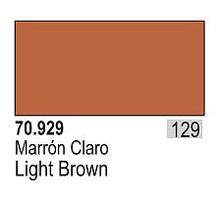 Vallejo 17ml Bottle Light Brown Model Color (6/Bx)
