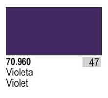 Vallejo 17ml Bottle Violet Model Color (6/Bx)