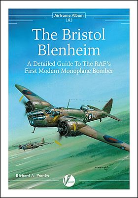 Valiant Wings Publishing Airframe Album 5- The Bristol Blenheim -- Authentic Scale Model Airplane Book -- #aa5