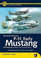 Valiant-Wings The North American Early P51 Mustang Authentic Scale Model Airplane Book #am6
