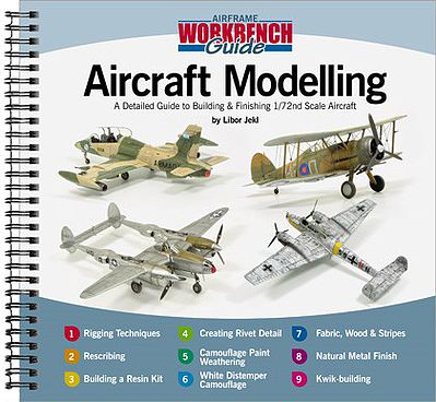 Valiant Wings Publishing Guide to Building & Finishing 1/72 Scale Aircraft -- Authentic Scale Model Airplane Book -- #aw1