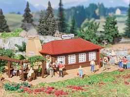 Vollmer Trout Smokehouse Kit HO Scale Model Railroad Building #3615