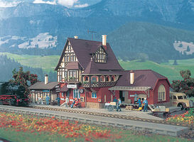 Vollmer Wildbach Station Kit HO Scale Model Railroad Building #43512