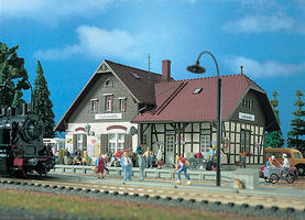 Vollmer Laufenmuhle Station Kit HO Scale Model Railroad Building #43518