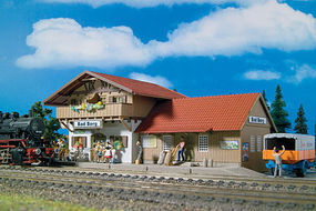 Vollmer Station Bad Berg Kit HO Scale Model Railroad Building #43526