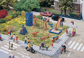 Vollmer Playground Kit HO Scale Model Railroad Building #43665