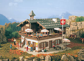 Vollmer Alpine Restaurant Kit HO Scale Model Railroad Building #43706