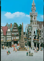 Vollmer Ornamental Fountain Kit HO Scale Model Railroad Building #43758
