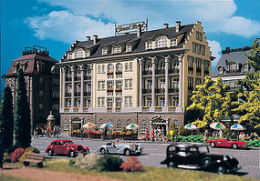 Vollmer 4 Story Hotel Kit HO Scale Model Railroad Building #43772