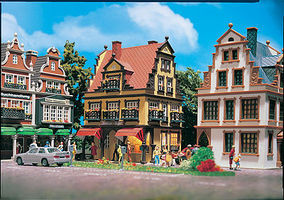 Vollmer Jewelry Shop Kit HO Scale Model Railroad Building #43840