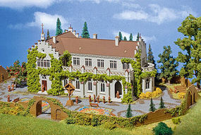 Vollmer Monastery Kit HO Scale Model Railroad Building #43860