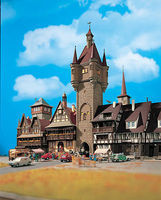 Vollmer Tower Rothenburg Kit HO Scale Model Railroad Building #43900