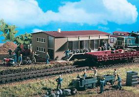 Vollmer Warehouse Kit HO Scale Model Railroad Building #45604