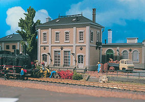 Vollmer Two Story Factory Building Kit HO Scale Model Railroad Building #45610