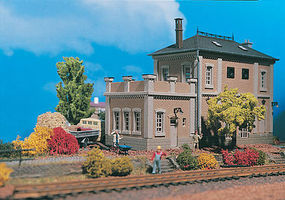 Vollmer Substation or Office Annex Kit HO Scale Model Railroad Building #45614