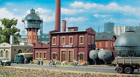 Vollmer Heating Plant Heizwerk Kit HO Scale Model Railroad Building #45617