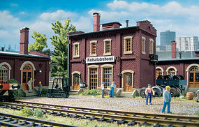 Vollmer Wheel Repair Shop Radsatzdreherei Kit HO Scale Model Railroad Building #45618