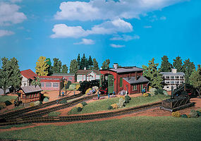 Vollmer 1 Stall Engine House Kit HO Scale Model Railroad Building #45750