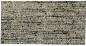 Vollmer Embossed Stone Wallpaper HO Scale Model Railroad Building Accessory #46049