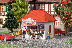 Vollmer Chicken Charly Kiosk Kit N Scale Model Railroad Building #47626