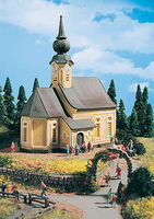 Vollmer Church Kit N Scale Model Railroad Building #47740