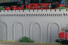 Vollmer Arcades Gray (2) N Scale Model Railroad Miscellaneous Scenery #47815