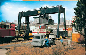 Vollmer Container Crane Kit N Scale Model Railroad Building #47905