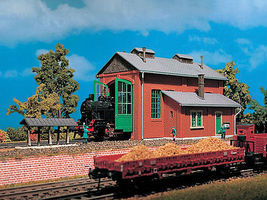 Vollmer Engine Shed Kit HO Scale Model Railroad Building #49110