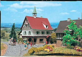 Vollmer Small City Hall Z Scale Model Railroad Building #49532