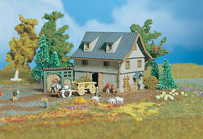 Vollmer Barn Z Scale Model Railroad Building #49541
