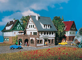Vollmer Village Inn Z Scale Model Railroad Building #49545