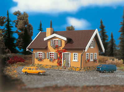 Vollmer Gmbh Country House -- Z Scale Model Railroad Building -- #49570
