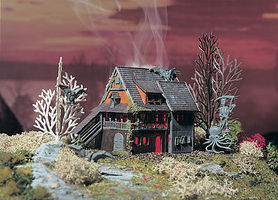 Vollmer Haunted Mansion Z Scale Model Railroad Building #49679