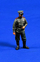 Verlinden 54mm WWII Russian Tank Officer Resin Model Military Figure Kit 1/32 Scale #0290
