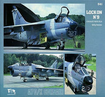 Verlinden A-7D/K Corsair II Lock On #9 Authentic Scale Model Airplane Book #0541