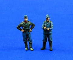 Verlinden German Pilot & Crewchief Resin Model Military Figure Kit 1/32 Scale #0780