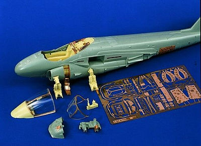 Verlinden Productions A6 Intruder Update Set -- Plastic Model Aircraft Accessory -- 1/48 Scale -- #0828