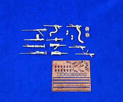 Verlinden Luftwaffe Aircraft Guns Plastic Model Aircraft Accessory 1/48 Scale #1261