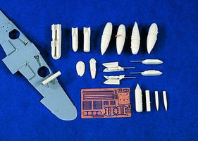 Verlinden Me109 Underwing Stores Plastic Model Aircraft Accessory 1/48 Scale #1321