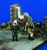 Verlinden On The Move Resin Military Diorama Kit 1/35 Scale #1346