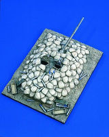 Verlinden Tank Bunker Afghanistan 2001 Resin Military Diorama Kit 1/35 Scale #1770