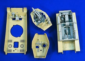 Verlinden King Tiger Interior for TAM Plastic Model Vehicle Accessory 1/35 Scale #1792