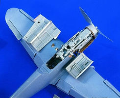 Verlinden Bf109G6 Detail Set for HSG Plastic Model Aircraft Accessory 1/32 Scale #1809
