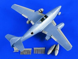 Verlinden Me262 Detail Set for TAM Plastic Model Aircraft Accessory 1/48 Scale #1846